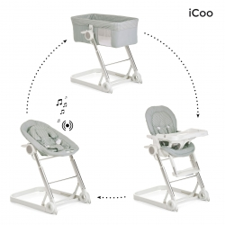Система 3 в 1 iCoo Grow With Me Diamond Grey